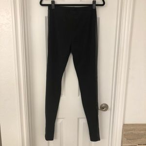 Trouve Faux Leather Leggings- Size Medium